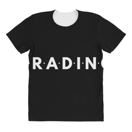 Trading All Over Women's T-shirt Designed By Blackacturus