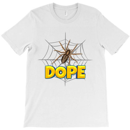 Spider Cartoon Character With Dope Typography T-shirt Designed By Dev18