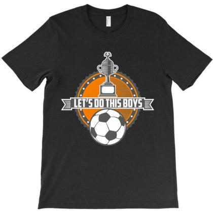 Soccer Vintage Emblem T-shirt Designed By Dev18
