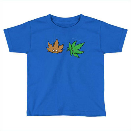 Relaxed Leaf! Toddler T-shirt Designed By Raffiti
