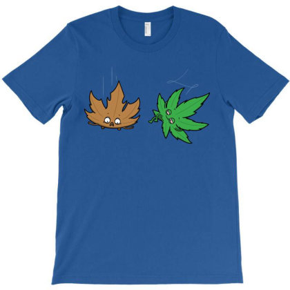 Relaxed Leaf! T-shirt Designed By Raffiti