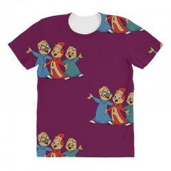 theodore roosevelt chipmunk All Over Women's T-shirt   Artistshot