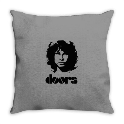 Psychedelic Rock Throw Pillow Designed By Herlina Citrakusuma