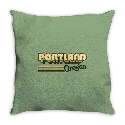 Portland Soccer Throw Pillow Designed By Herlina Citrakusuma