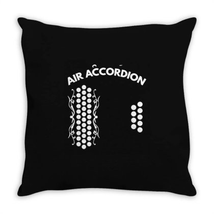 Air Accordion Throw Pillow Designed By Hot Maker