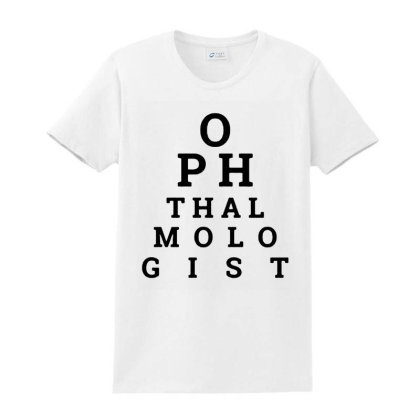 Ophthalmologist Charts Funny Ladies Classic T-shirt Designed By Jasmine Tees