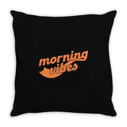 Morning Vibes Throw Pillow Designed By Zee Arunika