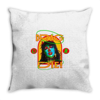 Texas Drag Race Throw Pillow Designed By Rifta
