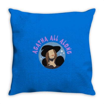 The Wandavision Throw Pillow Designed By Herlina Citrakusuma
