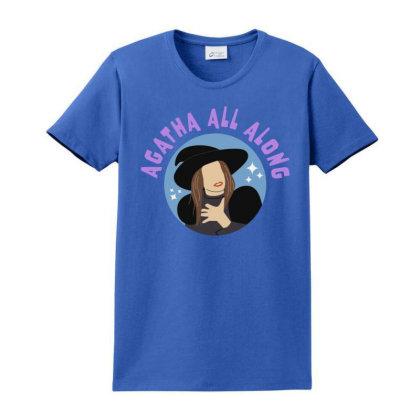 The Wandavision Ladies Classic T-shirt Designed By Herlina Citrakusuma