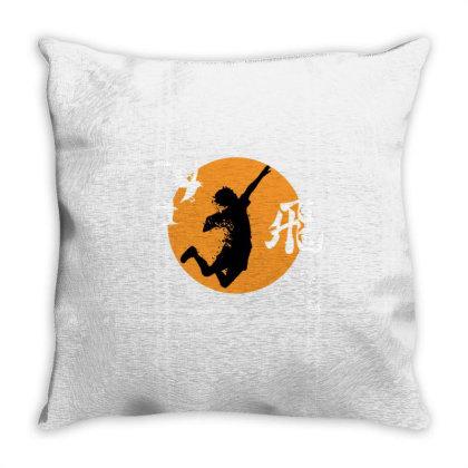 Haikyu Volley Team Throw Pillow Designed By Rifta