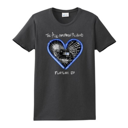 All-american Rejects Ladies Classic T-shirt Designed By Accel900101