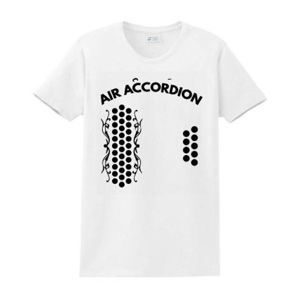 Air Accordion Ladies Classic T-shirt Designed By Hot Maker
