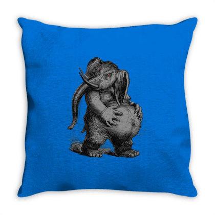 Extreme Hunter Throw Pillow Designed By Ciko Prasetyawan