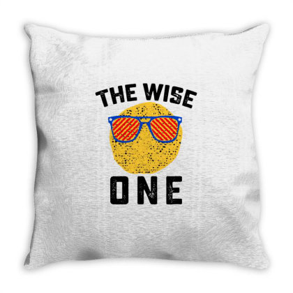 The Wise One Throw Pillow Designed By Hot Maker