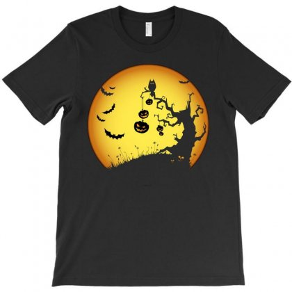 Night Halloween T-shirt Designed By Achmad