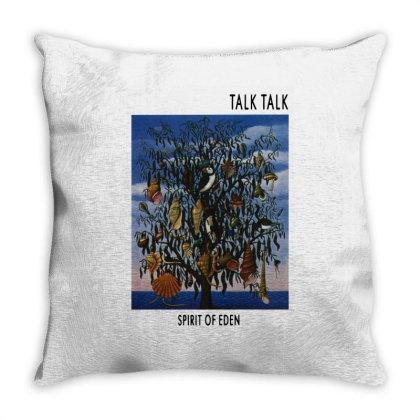 Talk Talk Band Throw Pillow Designed By Rifta