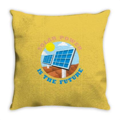 Save Energy Throw Pillow Designed By Ciko Prasetyawan