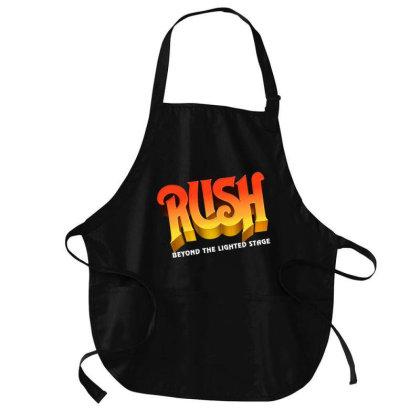 Rush Original Logo Medium-length Apron Designed By Rifta