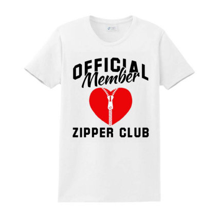 Official Member Zipper Club Heart Cardiologist Ladies Classic T-shirt Designed By Jasmine Tees