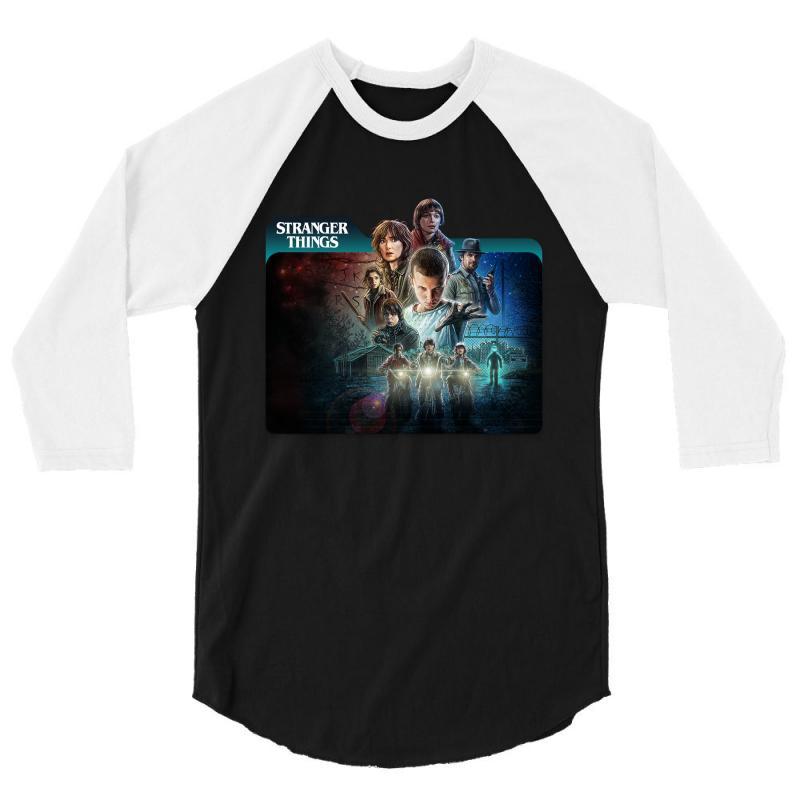 Stranger Things 01 3/4 Sleeve Shirt | Artistshot