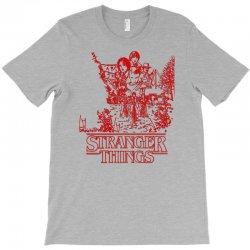 stranger things red T-Shirt   Artistshot
