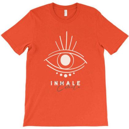 Inhale Exhale T-shirt Designed By Dev18