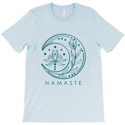 Namaste T-shirt Designed By Dev18