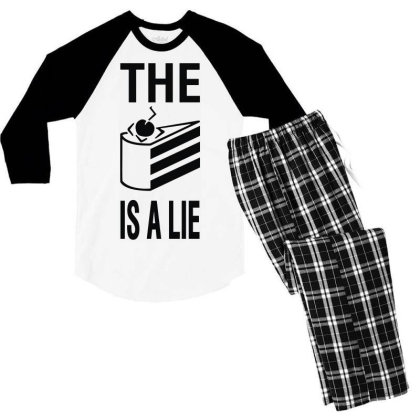 The Cak3 Men's 3/4 Sleeve Pajama Set Designed By Toldo