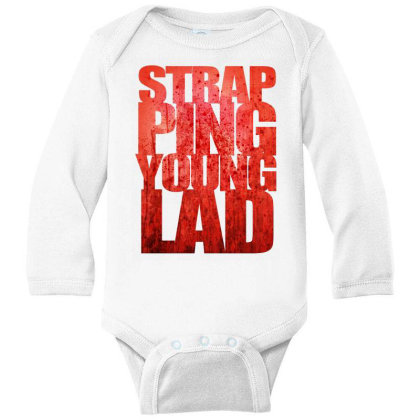 Strapping Young Lad Metal Band Long Sleeve Baby Bodysuit Designed By Mawa