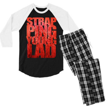Strapping Young Lad Metal Band Men's 3/4 Sleeve Pajama Set Designed By Mawa