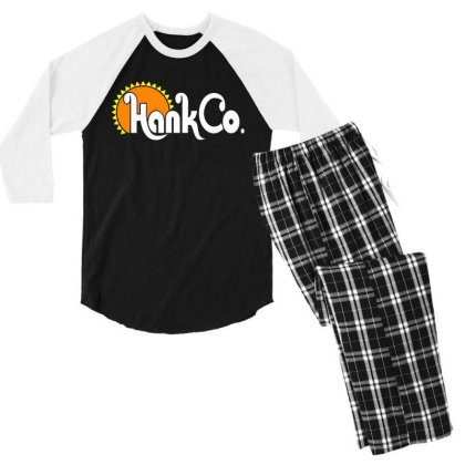 Hank Co Men's 3/4 Sleeve Pajama Set Designed By Hot Maker