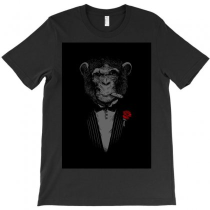 Monkey Busniseman T-shirt Designed By Achmad