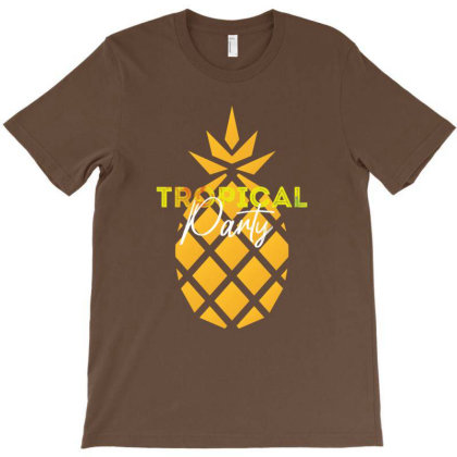 Tropical Party T-shirt Designed By Dev18