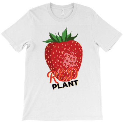 Red Plant T-shirt Designed By Dev18