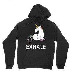 Exhale Unicorn Unisex Hoodie | Artistshot