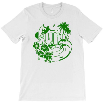Surf Hawaii Funny Holiday T-shirt Designed By Garrys4b4