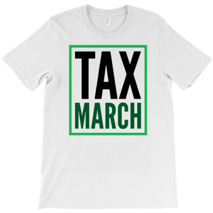 Tax March Funny Logo T-shirt Designed By Garrys4b4