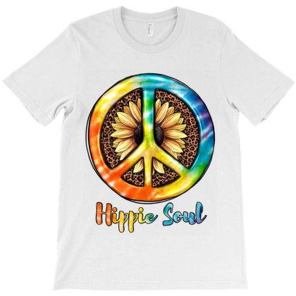 Hippie  Soul T-shirt Designed By Jahusdesignshop