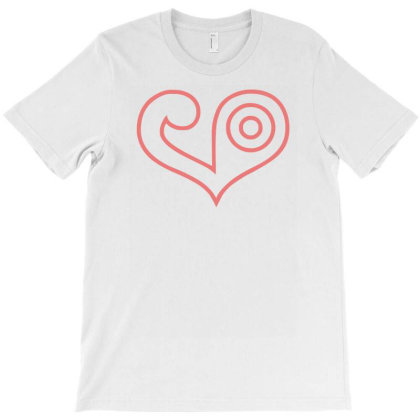 The Crest Of Love T-shirt Designed By Garrys4b4