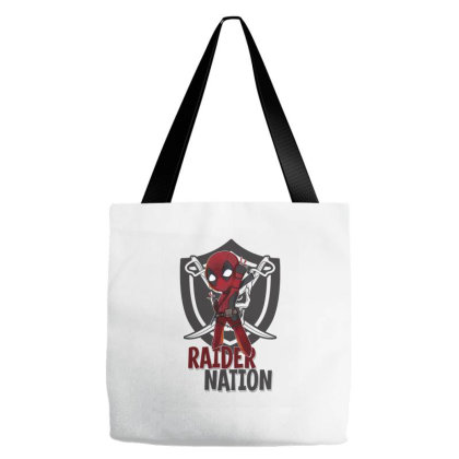 Chibi Raider Nation Tote Bags Designed By Tiococacola