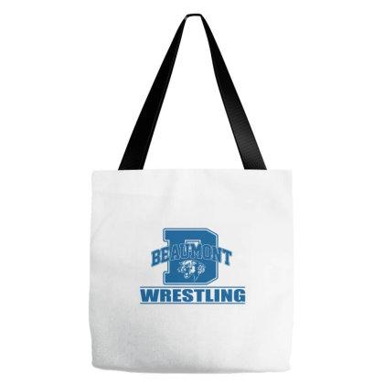 Beaumont Wrestling Tote Bags Designed By Jasminsmagicworld