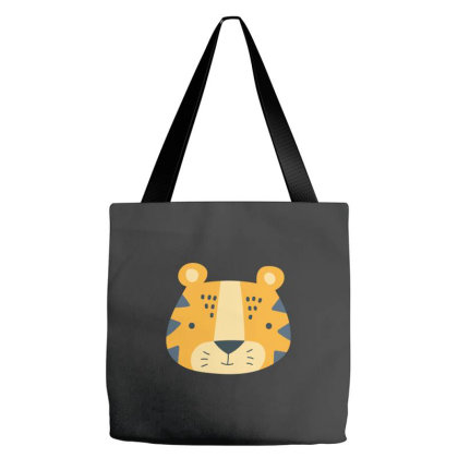 Tiger Kids Tote Bags Designed By Sptwro