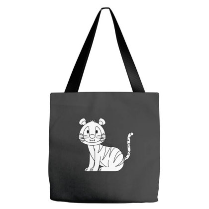 Tiger Tote Bags Designed By Sptwro