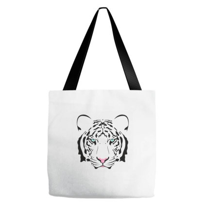 Head Tiger Tote Bags Designed By Sptwro