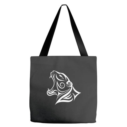 Tiger Logo Tote Bags Designed By Sptwro