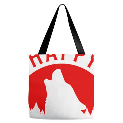Happy Howlidays Tote Bags Designed By Sakatiar