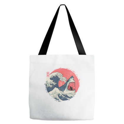 The Great Shark Tote Bags Designed By Fanfreak
