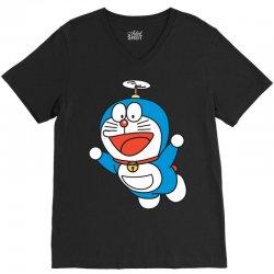 Doraemon V-Neck Tee | Artistshot