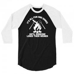 loses a weiner 3/4 Sleeve Shirt | Artistshot